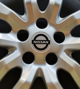 45 52 Mm Vinyl Decal Stickers Fits For Most Nissan Wheel Covers Hubcaps Set Of 4