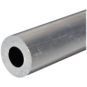 6061 t6 Aluminum Round Tube Od 3 1 2 Wall 0 875 7 8 Length 12
