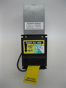 Mars Mei Vn 2511 115v Dollar Bill Acceptor Validator Takes 1 And 5 Vending