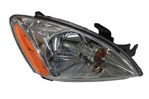 For 2004 2007 Mitsubishi Lancer Es Right Passenger Headlamp Headlight Chrome Rh