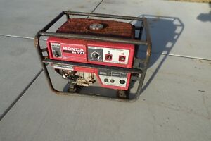Parts Or Honda Welder Generator Ew171 Used As is Local Pickup Only Ew 171