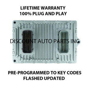 2012 Jeep Dodge Engine Computer Module Pcm Programmed Plug Play Cc21 012