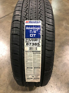 4 New 215 55 17 Bfgoodrich Advantage T A Tires