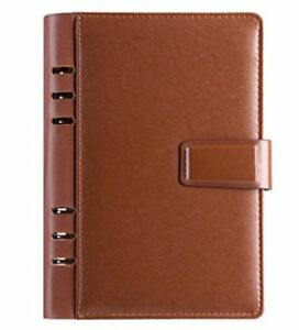 touch Vip Filofax Leather A5 Card Business Card Pen Pocket With Ring 22 P o