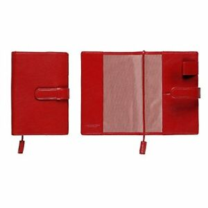 leather Kuobadisu Business Dedicated Notebook Cover Royal Red Business P o