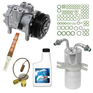 Kt 4519 New Ac Compressor Kit Fits Ford E150 88 V8 With Rear A C