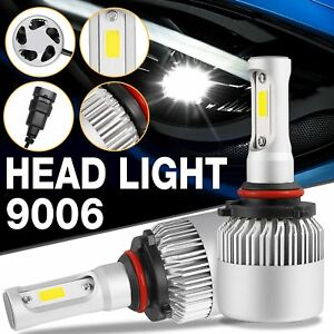 9006 Car Auto Led Hb4 Headlight Bulbs Driving Replacement 6500k 8000lm Usa Ship