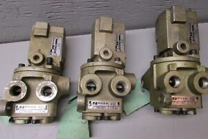 Ross 2776b3001 Solenoid Air Valve Lot Of 3