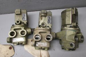 Ross 2776b4011 Solenoid Air Valve Lot Of 3