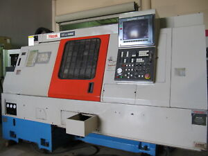 1993 Mazak Super Quick Turn 15ms Cnc Live Tool Lathe With Sub spindle Sqt 15