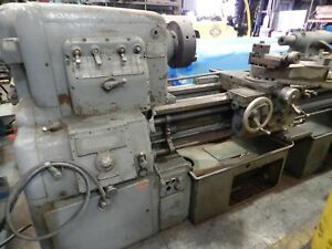Monarch Engine Lathe12 Chuck 72 Centers S n 12356 440 V