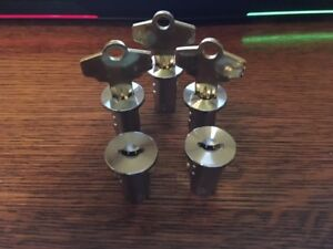 Oak Northwestern A a Komet Eagle Vending Bulk Machine Lock Keys Set Of 5