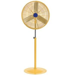 Pedestal Fan Industrial Oscillating 30 3 Spd 10 000 Cfm Safety Yellow