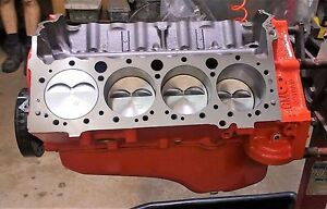 Chevy 383 Stroker Short Block Engine Motor With 4 Bolt Block Free Shipping