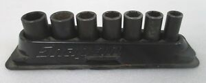 Snap on 1 2 7pc Socket Set In Magnetic Tray Pakty396