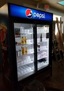 True Gdm 49 49 Cu Ft Pepsi Refrigerator