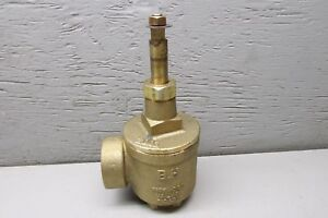 B h Firehose Valve Fig A97 1 1 2 Brass No Handle