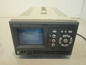 Tektronix Mtx100a Mpeg Recorder And Player