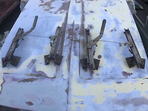 Amc Javelin Amx Factory Bucket Seat Tracks Pair 70 74 Rare