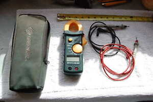 Greenlee Cm 600 600 Amp Ac Ac dc Volt Clamp On Multimeter