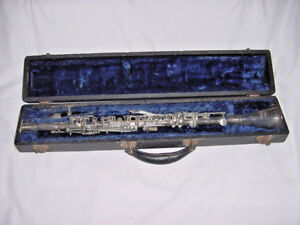 C G Conn Pan American Unibody Metal 62n Special Clarinet Elkhart Indiana C1950