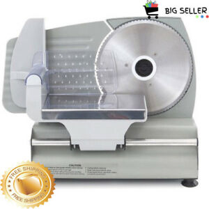 Electric Meat Slicer Commercial Cutter blad For Deli Food Cheese Steel Machine