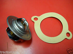 Ford Tractor Thermostat 2000 3000 4000 5000 7000 8000 9000 D8nn8575aa W Gasket