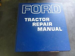 Ford 2000 3000 4000 5000 Tractors Repair Manual