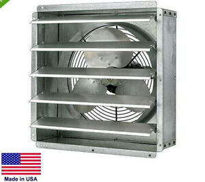 Exhaust Fan Commercial Direct Drive 16 1 4 Hp 115v 1 Spd 2 600 Cfm
