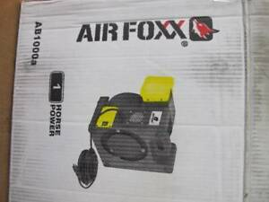 Airfoxx Ab1000a High Velocity 1 Hp Workshop Blower Fan Air Mover Spot Cooler