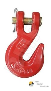 4 5 16 Clevis Chain Grab Hook Wrecker Tow Truck Trailer Clevis Rigging 0900125