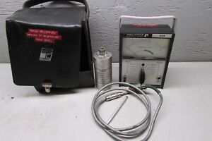 Reliance 638 Vibration Meter W Reliance Model 4 028 Pick Up Transducer