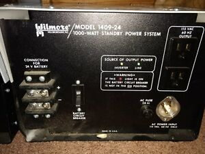 Wilmore 1409 24 Power Supply