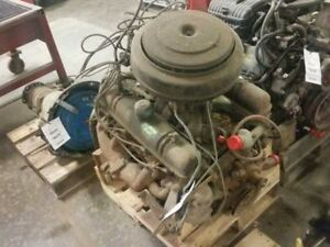 1956 Buick Engine Assembly 8 322 V 8 Runs Good 454842
