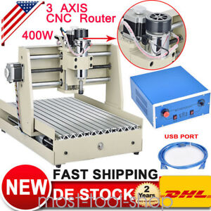 Usb 3040t 3 Axis Cnc Router Engraver Machine 3d Cutter Carving 400w Woodworking