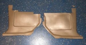 Set 1968 1969 Ford Torino Gt Cobra Cyclone Ranchero Light Gold Tan Kick Panels