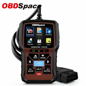 Obdii Scanner Check Engine Light Live Data I m Readiness Automotive Code Reader