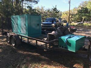 Cummins Onan 45kw Natural Gas Generator 45 Ggfc 790 Hours