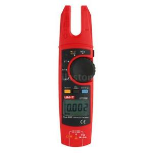 Ut256b Handheld True Rms Lcd Digital Fork Meter Clamp Multimeter Ncv Tester V4b2