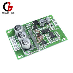 Dc 12 36v 500w Brushless Motor Pwm Control Controller Balanced Bldc Driver Board