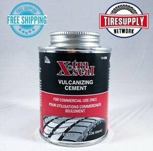 14 008 Xtra Seal Vulcanizing Rubber Cement 8 Oz Can Made In Usa Tire Repair