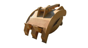 New 48 Heavy Duty Excavator Grapple For Cat 325