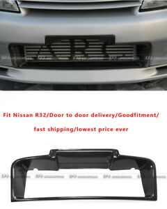 New Carbon Front Bumper Intercooler Surround Duct For Nissan Skyline R32 Gtr