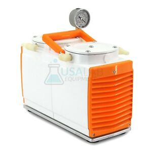 Usa Lab Ptfe Diaphragm Vacuum Pump Gm 1 00 60l min 200mbar 110v