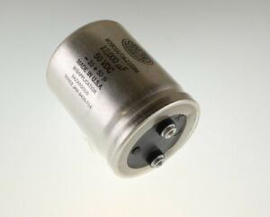 Sangamo 12000uf 50vdc Large Can Electrolytic Capacitor M39018 04 2159m
