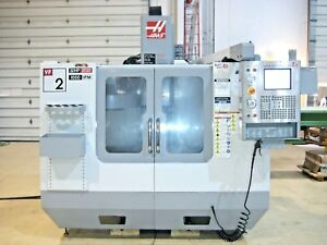 Haas Vf 2 Cnc Vertical Machining Center Mill 1400 Spindle Hours Cat 40 4 Axis