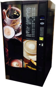 Crane National 673 Fresh Brew Coffee Vending Machine Free Shipping
