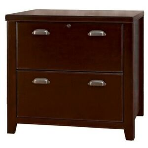 Beaumont Lane 2 Drawer Lateral Wood File Storage Cabinet In Cherry