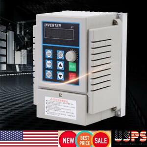 220v 0 75kw Single Phase 3ph Variable Frequency Drive Vfd Speed Controller Usa