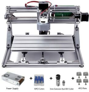 Diy Cnc Router Kits 3018 Grbl Control Wood Carving Milling Engraving Machine 3